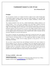 Continental_Cements_Limited_Case.docx