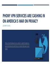 Phony VPN Services Are Cashing in on America's.pptx