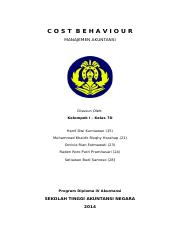 215409848-Cost-Behaviour