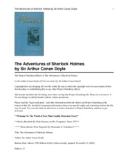 The_Adventures_of_Sherlock_Holmes