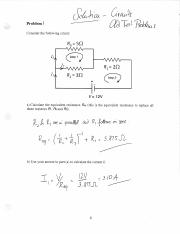 Practice Problems (Circuits) Physics 13 Lehigh