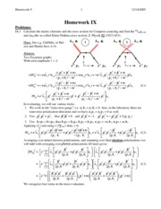 HW 9 problems/solutions
