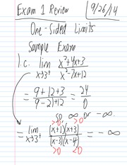 Fall 14 Math 105 04 Exam 1 Review