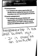 entrepreneur intrepreneur notes