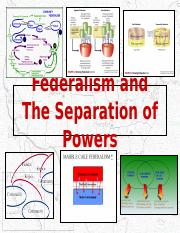 04. Federalism and the Separation of Powers