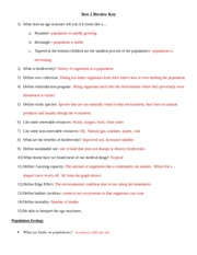 Quarter 1 Test Study-Guide-Key - Biology Quarterly 1