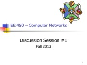 EE450-Discussion1-Fall-2013