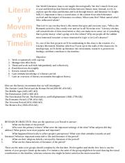 Literary5FMovements5FTimeline5FProject (1)