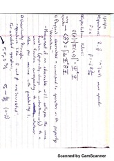 Physical Observables Notes