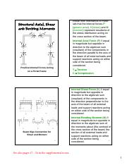 L6 - Shear and Moment Diagrams