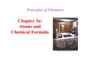 Chapter 3a- Atoms and Chemical Formula