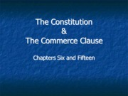 Legal Studies 2700 Chapter 6 and 15 Lecture Slides