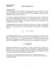 Expt2 - Beer's Law Sp15