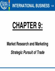 Chapter 9 - Market Research & Marketing - 12.11.2015