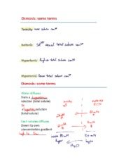Lecture 10- Membrane structure Notes