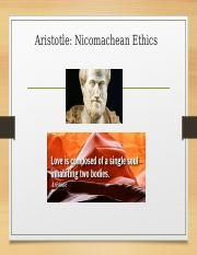 Part II summary of Aristotle and Lindemann.ppt