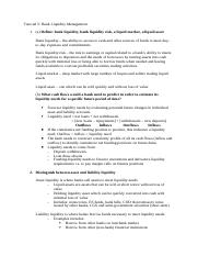 Tutorial 5 - Bank Liquidity Management Solutions.docx