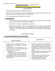 Criminal Procedure_Outline_Final