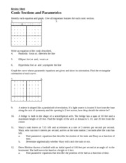 conics and parametric review (1)