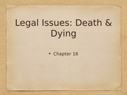 Ch 16: Legal Issues