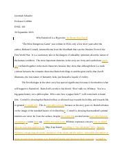fiction essay