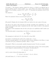Math442Quiz6Solutions