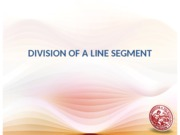 Day 04 Division of a Line Segment