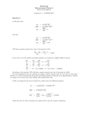 ECON 222 Winter 2010 Assignment 3 Solutions