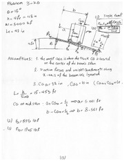 CHEM 301 Spring 2013 Problem Set 3 Solutions