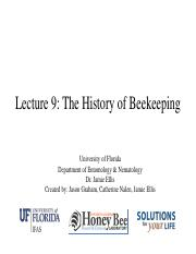 Lecture 9 - History of Beekeeping.pdf