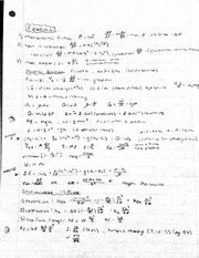 Equation sheet test 1