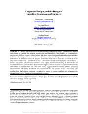 ARmstrong_Glaeser_Huang_2017_SSRN-id2896147--Corporate-hedging-and-design-of-incentive-contracts