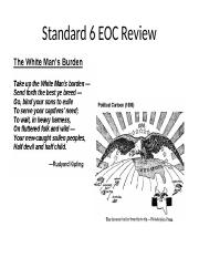 Standard 6 EOC Review