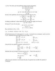 Midterm 1 - Econ 262 - Fall 2011 - Answers