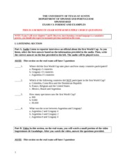 Examen # 3 Format and Examples FALL 2013(3)-1