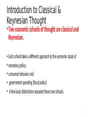 Classical and Keynes1.pptx