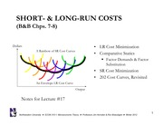 Lecture 17 SR and LR Costs