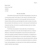 Optional Short Essay - Daisy Miller.docx