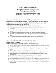 300x Drug Exam III Study Guide-2.docx