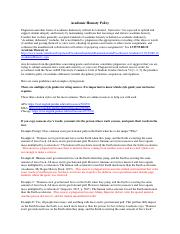 Student Conduct Academic Honesty Policy 1.pdf