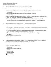 Topic 3 self-assessment quizzes SOL