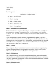 nt1310 unit 9 Itt nt1310 final exam study guide disorders of brain behavior and cognition the neurocomputational perspective volume 121 progress in brain nt1310 unit 9 lab 1 essay - 1238 palabras | cram.