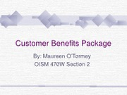 Customer Benefits Package2