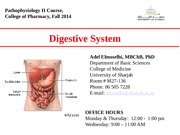 UOS. Pharm. Digestive lecture_Fall 2014