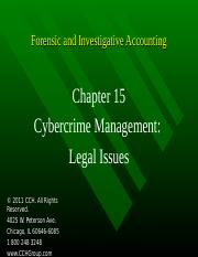 5Ed_CCH_Forensic_Investigative_Accounting_Ch15