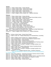 Spring  2015 Connections 200 Event List(1)