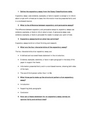 Expository Essays - step. In an expository essay, facts are used to ...