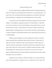 Oedipus the King Essay Test.docx