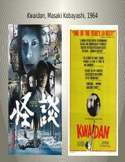 5okelly.Kwaidan and cinematography lecture