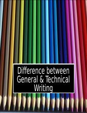 Diffrence Between Technical and General writing-1.ppt